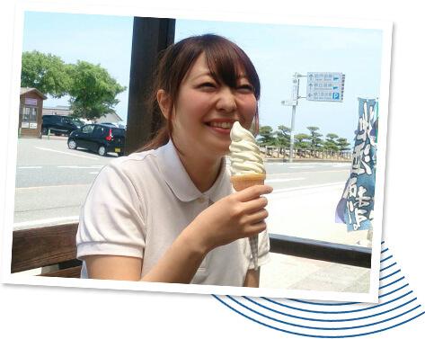 鳥取特產 青梨冰淇淋