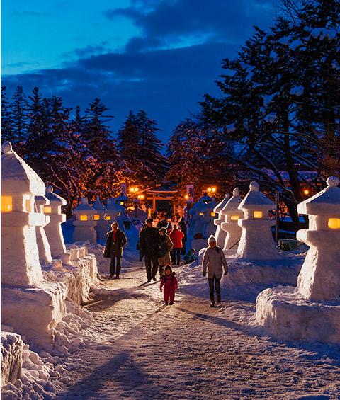 上杉雪燈籠祭