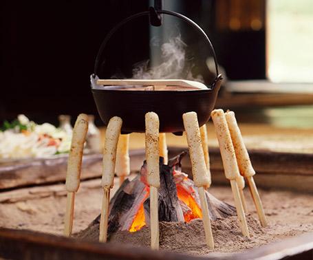 米棒鍋 きりたんぽ鍋