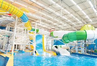 大型娛樂泳池