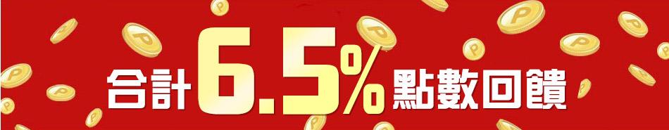 樂天市場消費刷樂天信用卡 合計6.5倍點數回饋
