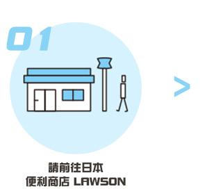 請前往日本便利商店LAWSON