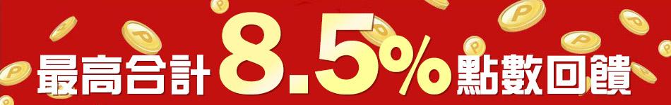 樂天市場消費刷樂天信用卡 合計8.5倍點數回饋