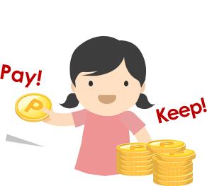 您可依照當月的經濟狀況與自身需求選擇繳付最低應繳金額,靈活付款、彈性理財。